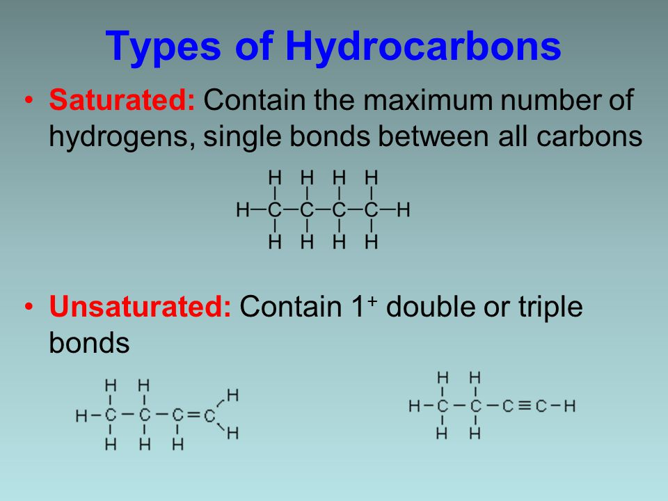Naming Alkenes & Alkynes 1.Count the number of C's in the longest chain containing the double/triple bond.