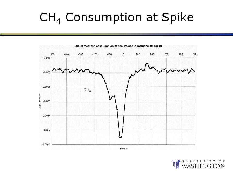 CH 4 Consumption at Spike