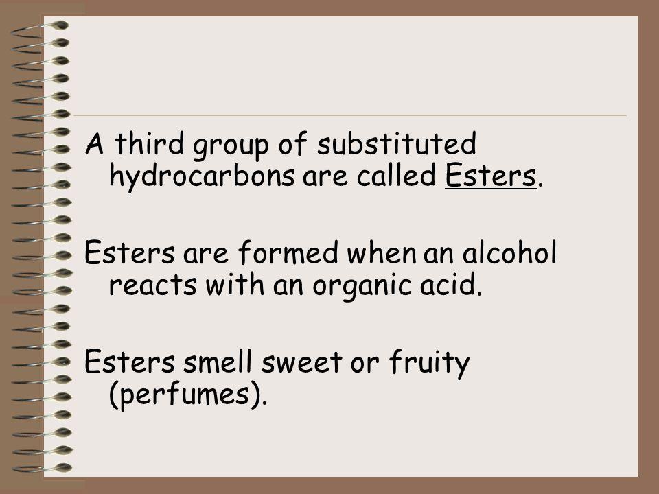 Example Butane becomes Butanoic Acid: H H H O l l l ll H – C – C – C - C – OH l l l H H H