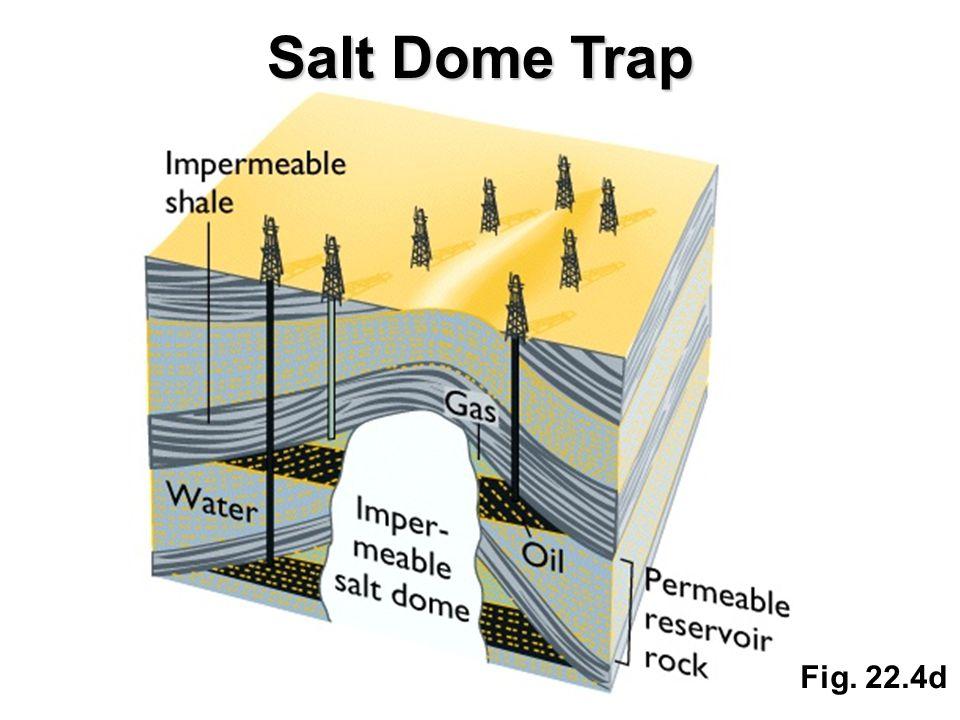Fig. 22.4d Salt Dome Trap
