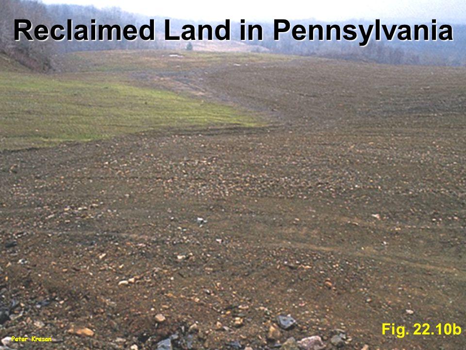 Fig. 22.10b Peter Kresan Reclaimed Land in Pennsylvania