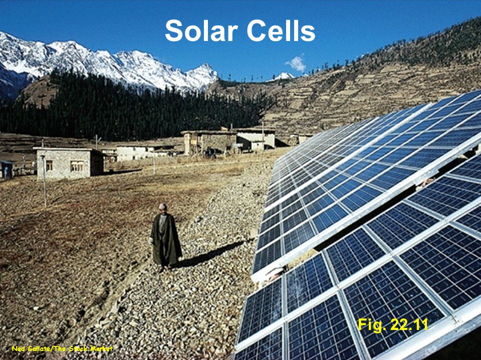 Fig. 22.11 Ned Gallate/The Stock Market Solar Cells