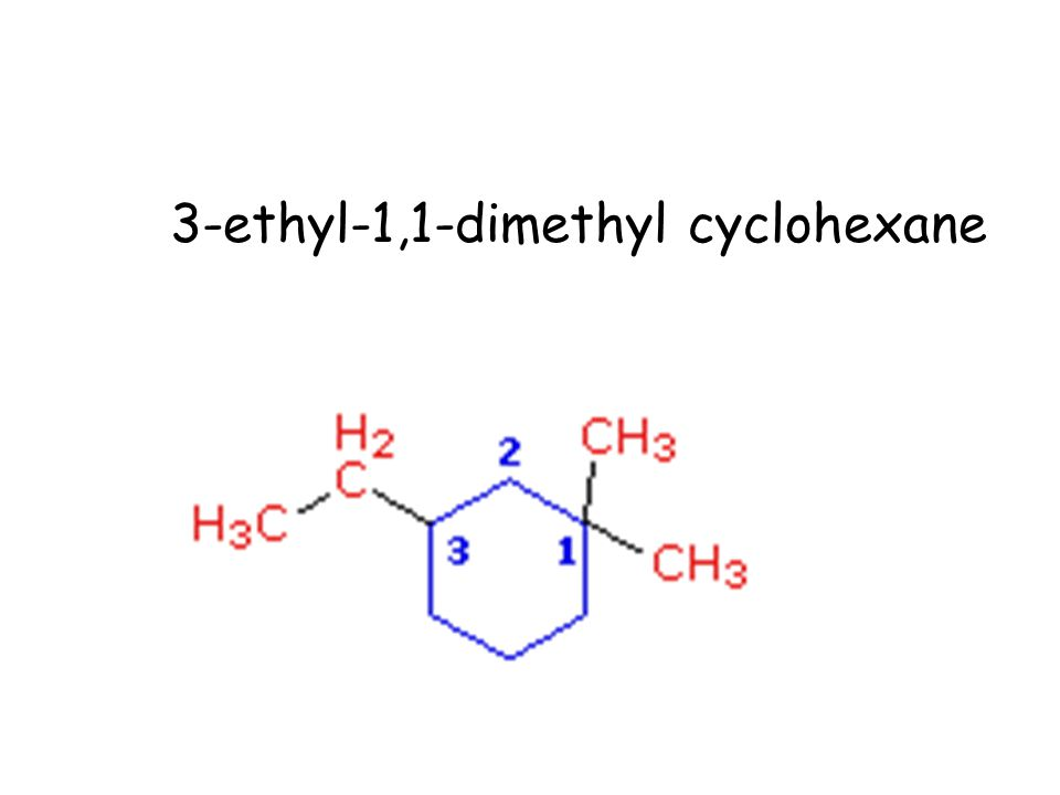 3-ethyl-1,1-dimethyl cyclohexane