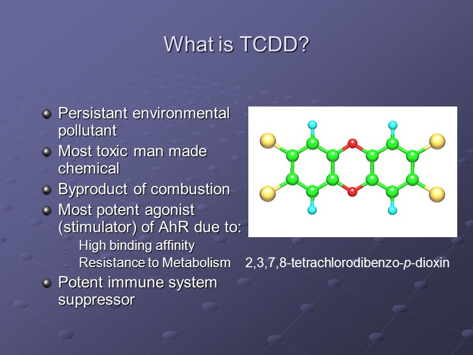 What is TCDD.