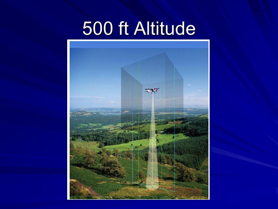 500 ft Altitude