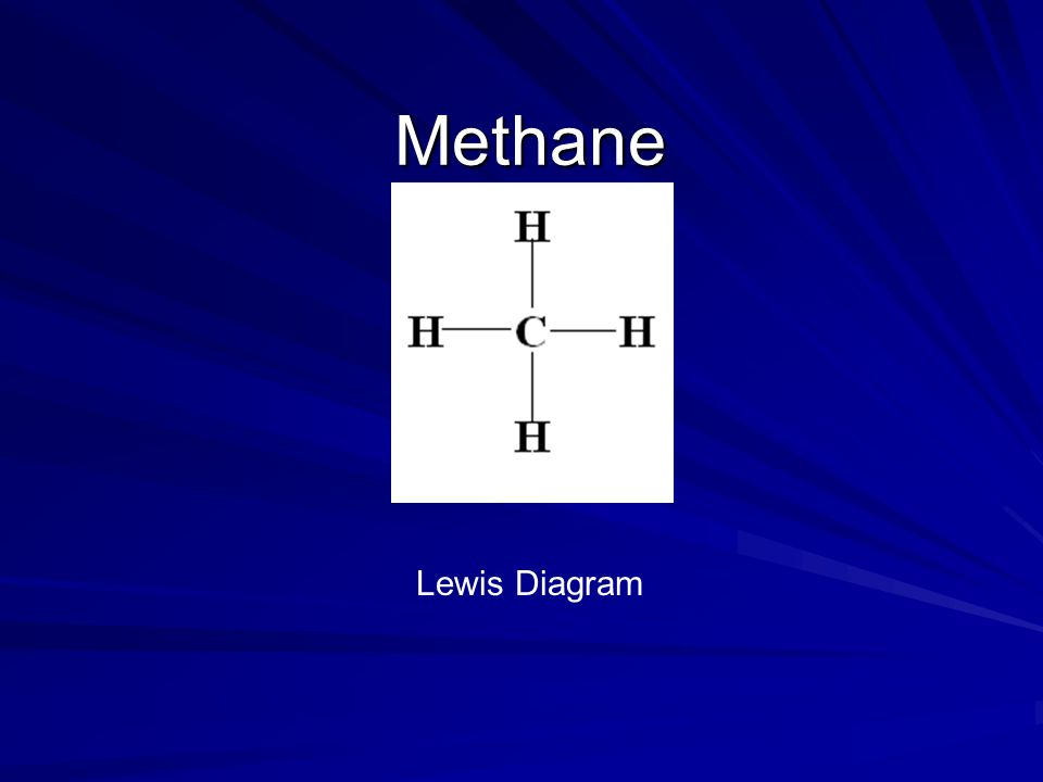 Methane Lewis Diagram