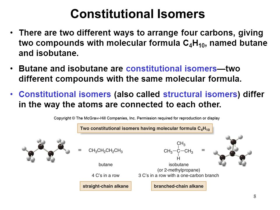 59 How many hydrogen atoms are there on carbon atoms 1 and 2, respectively, in the structure below.