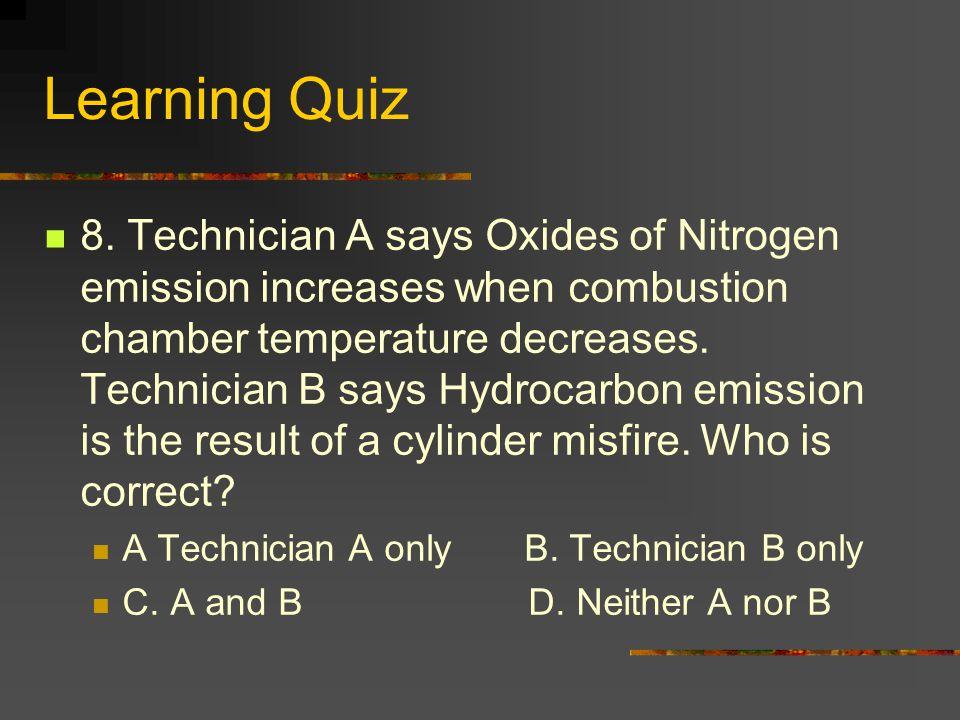 Learning Quiz 8.