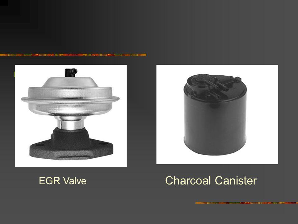 EGR Valve Charcoal Canister