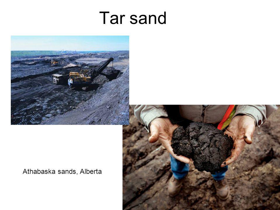 58 Tar sand Athabaska sands, Alberta