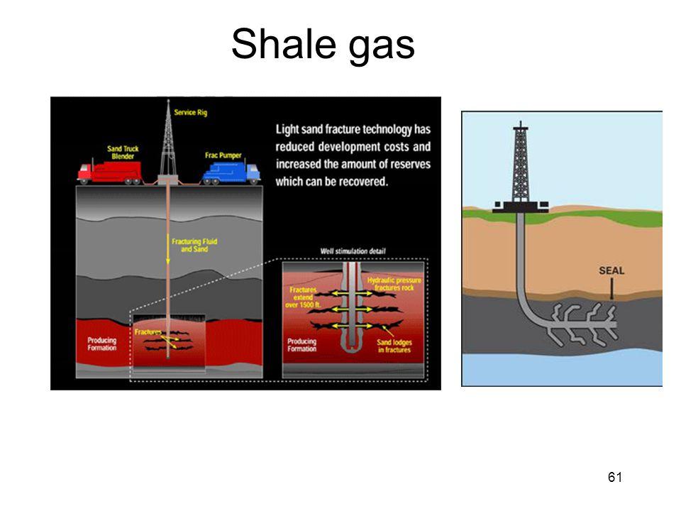 61 Shale gas