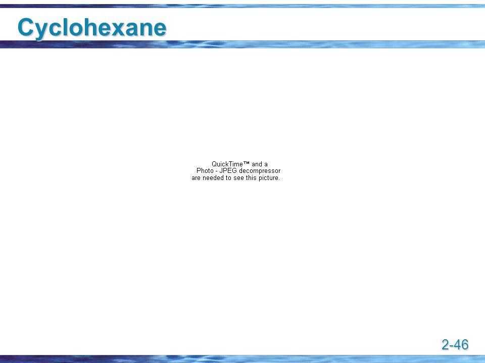 2-46 Cyclohexane