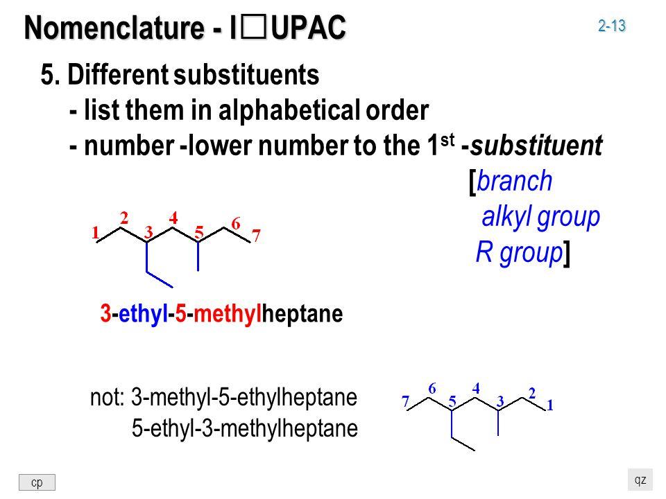 2-13 Nomenclature - IUPAC 5.