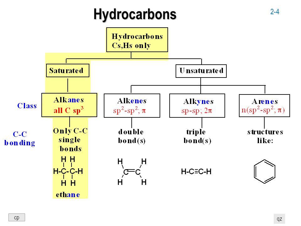 2-4 Hydrocarbons cp qz