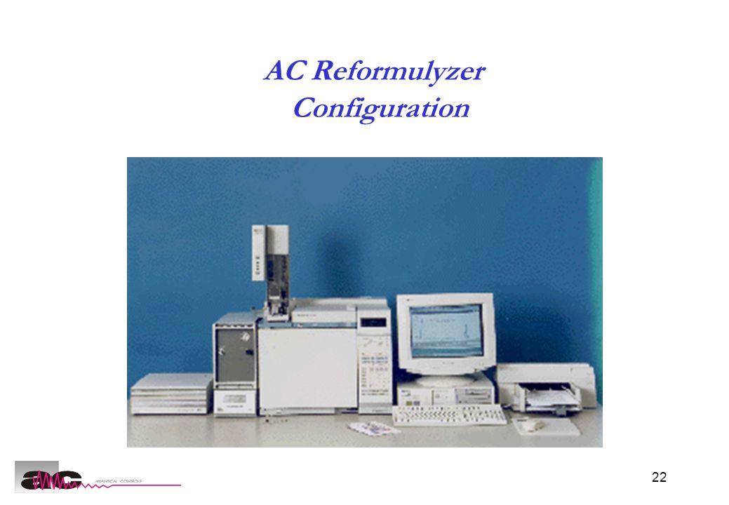 22 AC Reformulyzer Configuration