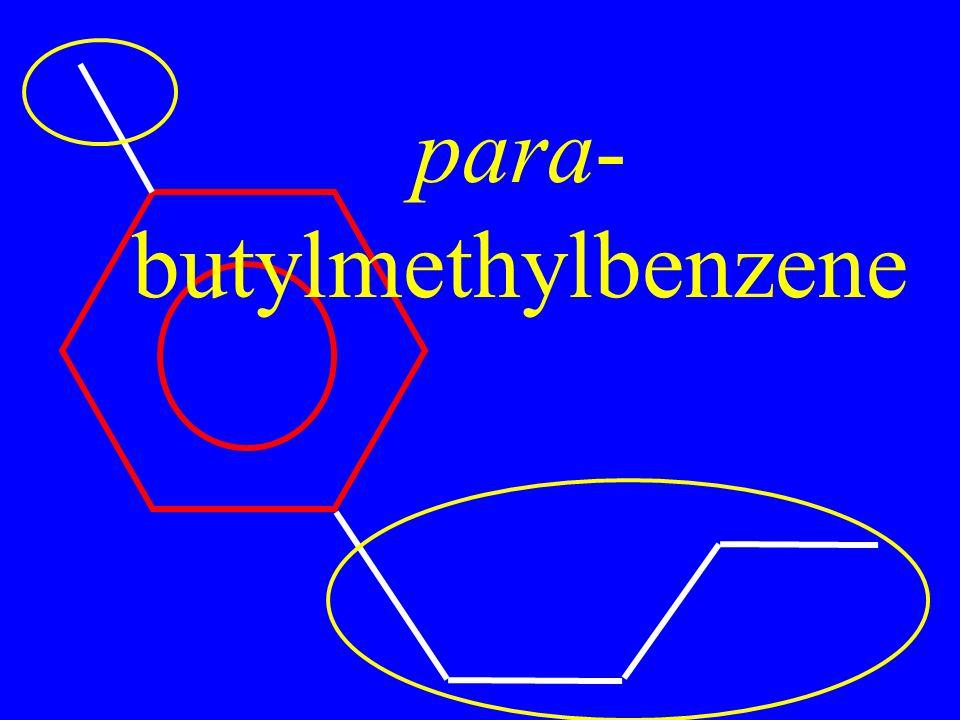 para- butylmethylbenzene