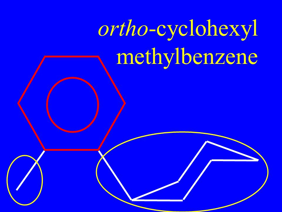 ortho-cyclohexyl methylbenzene