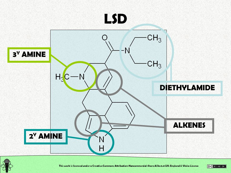 3 Y AMINE DIETHYLAMIDE 2 Y AMINE This work is licensed under a Creative Commons Attribution-Noncommercial-Share Alike 2.0 UK: England & Wales License LSD ALKENES