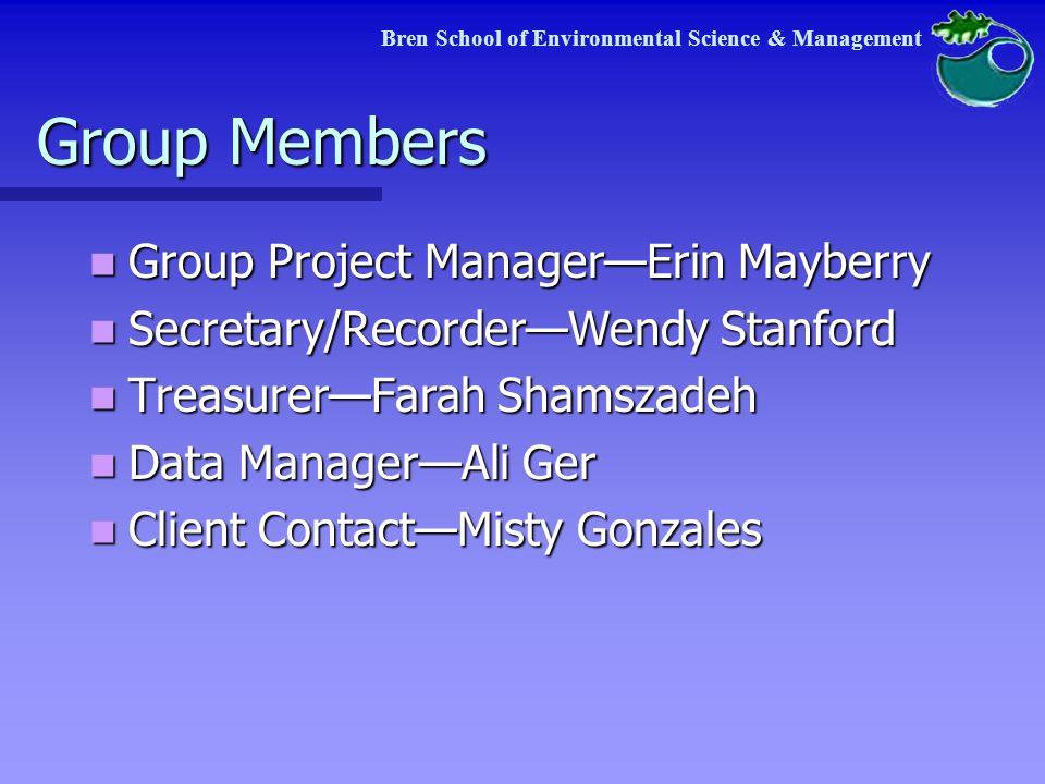 Bren School of Environmental Science & Management C.