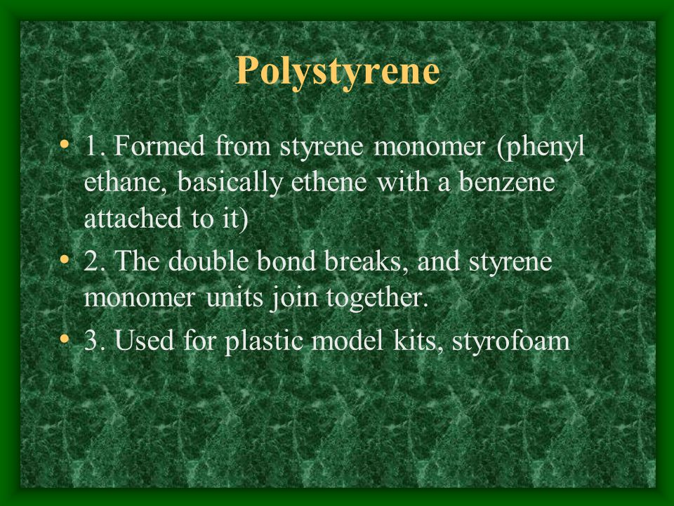 Polystyrene 1.