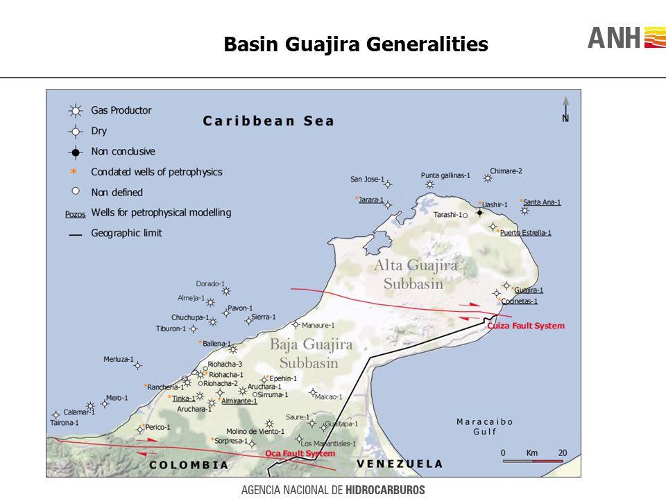 Basin Guajira Generalities
