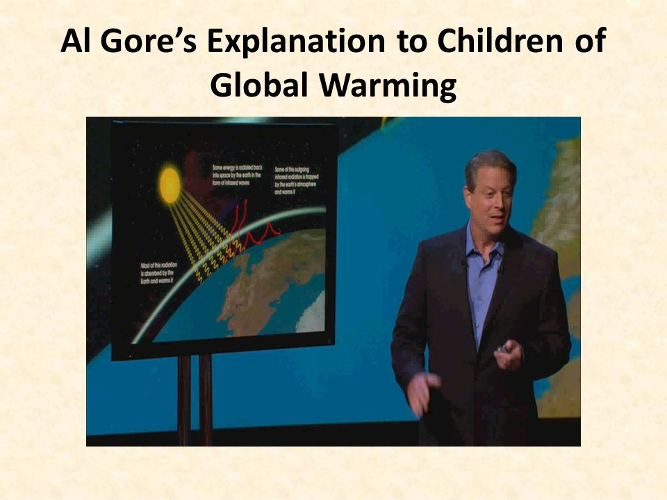 Al Gore's Explanation to Children of Global Warming