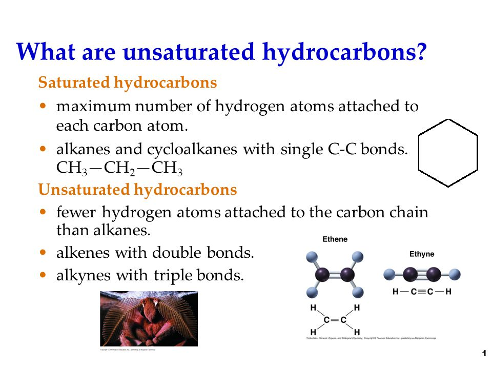 Let's look at hydrogenation.