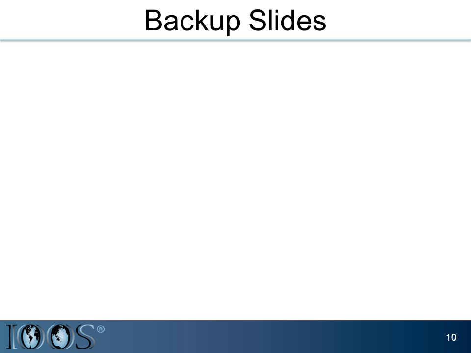 Backup Slides 10