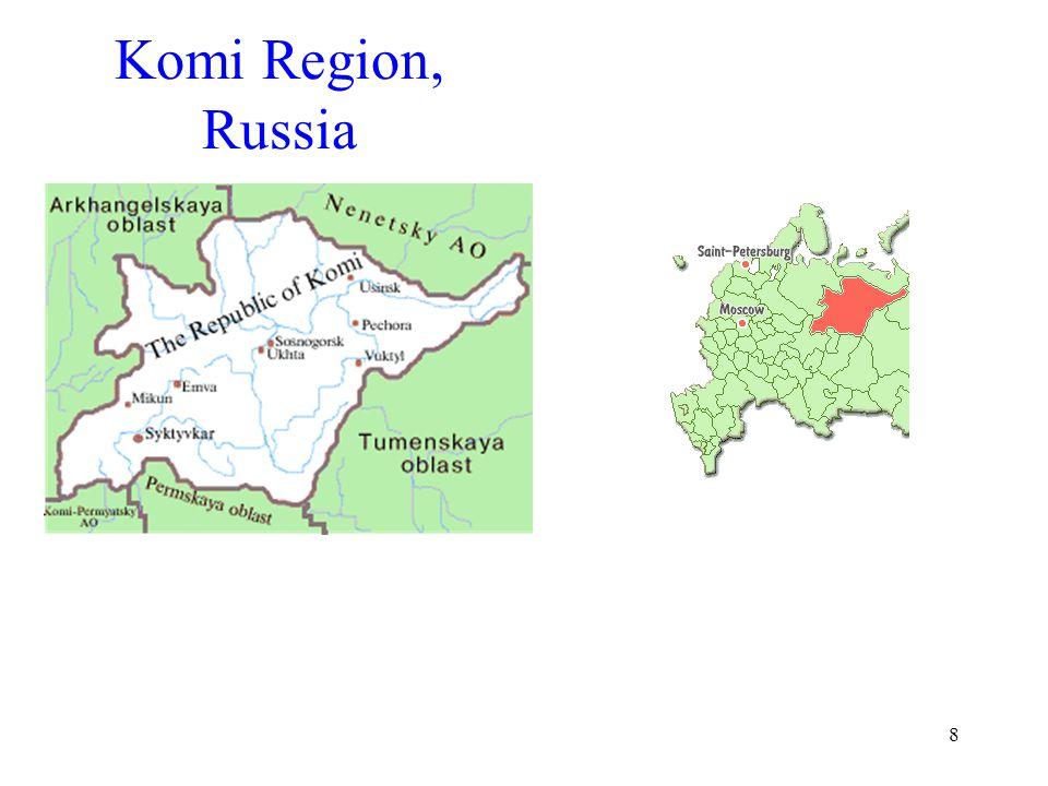 8 Komi Region, Russia