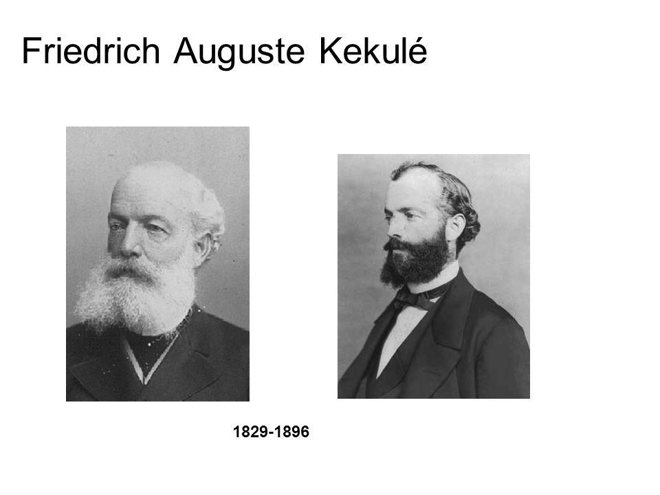Friedrich Auguste Kekulé 1829-1896