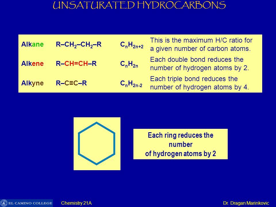 UNSATURATED HYDROCARBONS Chemistry 21A Dr. Dragan Marinkovic p-orbitals s-orbitals sp 2 -orbitals