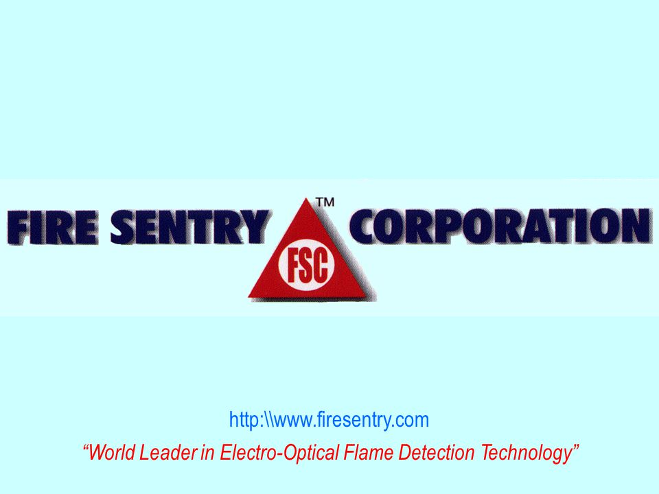 http:\\www.firesentry.com World Leader in Electro-Optical Flame Detection Technology