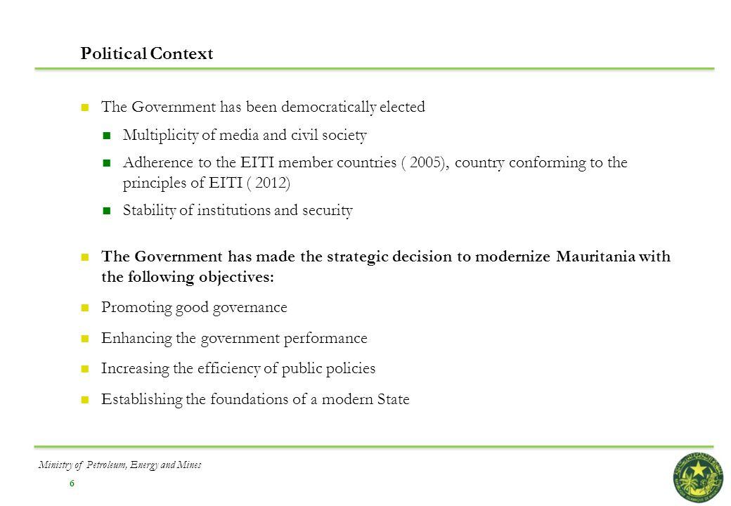 17 V. Development of Key Infrastructure