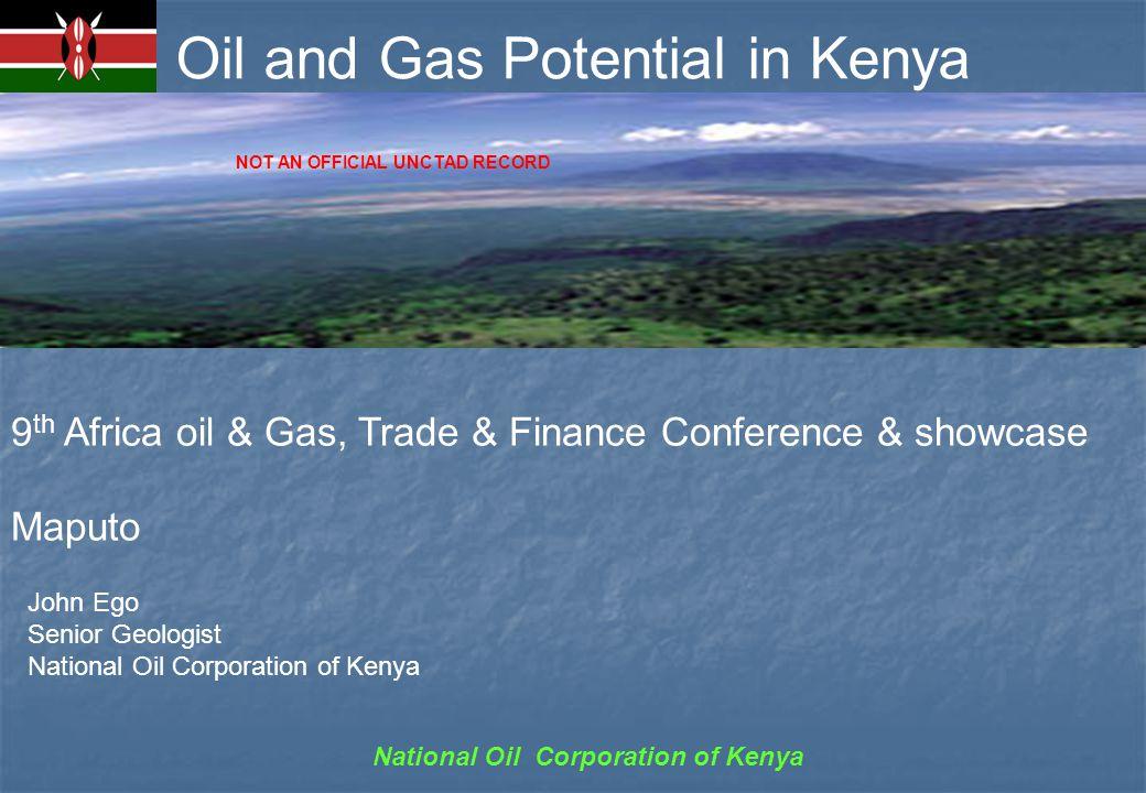 National Oil Corporation of Kenya KENYA AT A GLANCE Social: Government type:Democratic Rep.