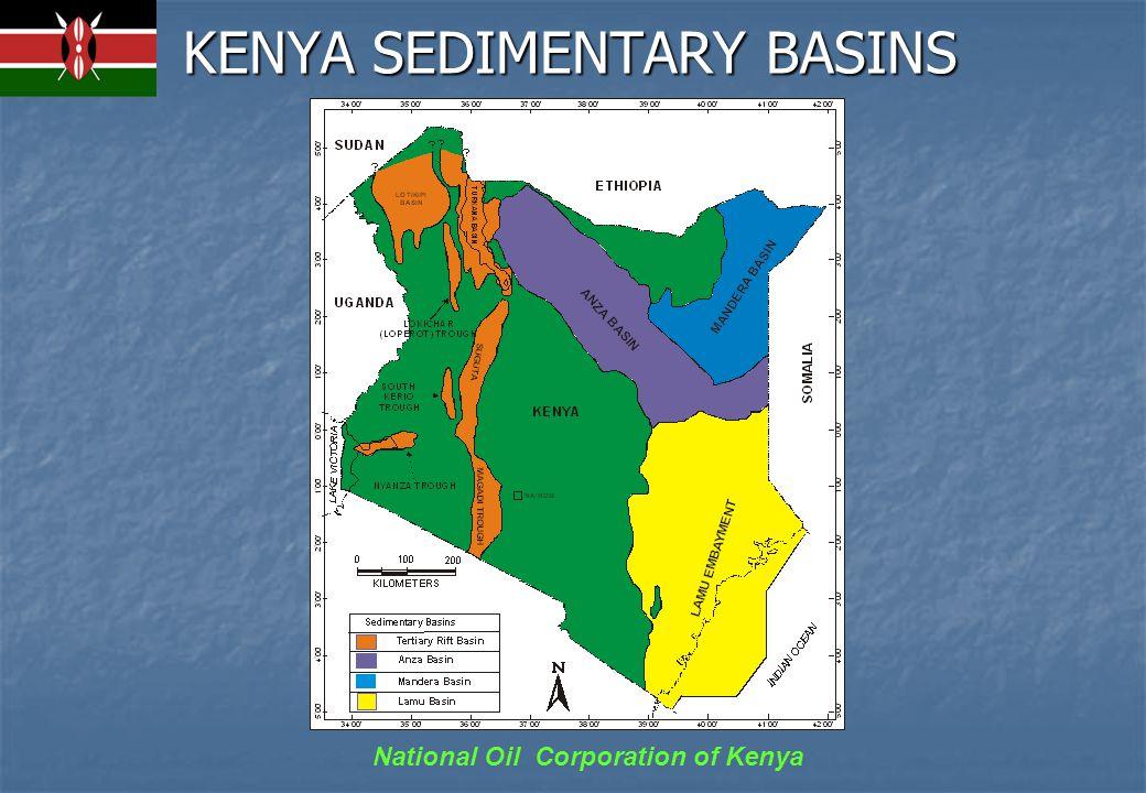 National Oil Corporation of Kenya KENYA SEDIMENTARY BASINS