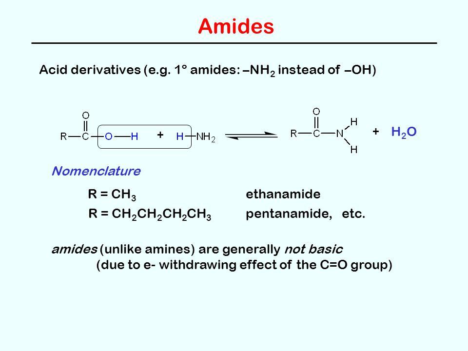 Amides Acid derivatives (e.g.