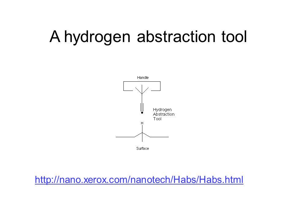 A hydrogen abstraction tool http://nano.xerox.com/nanotech/Habs/Habs.html