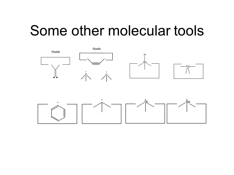 Some other molecular tools