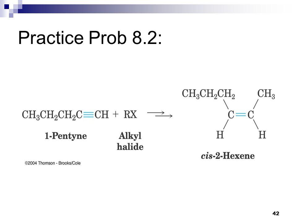 42 Practice Prob 8.2: