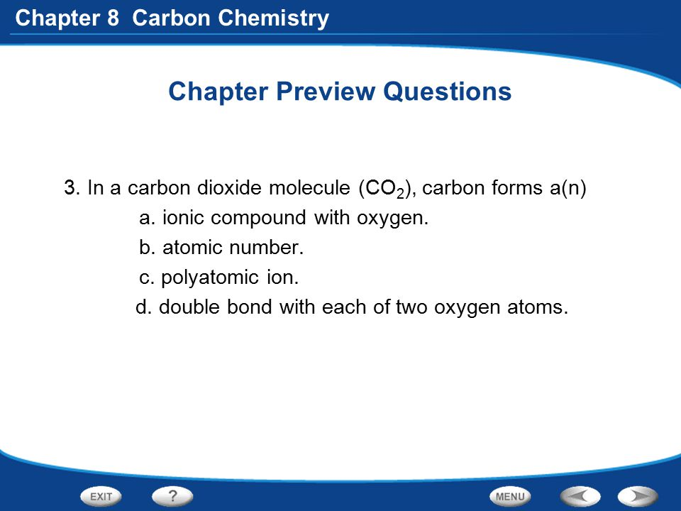Chapter 8 Carbon Chemistry Structure and Bonding in Hydrocarbons What are some characteristics of substituted hydrocarbons.