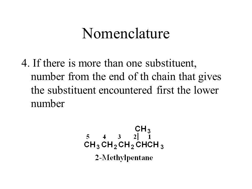 Nomenclature 4.