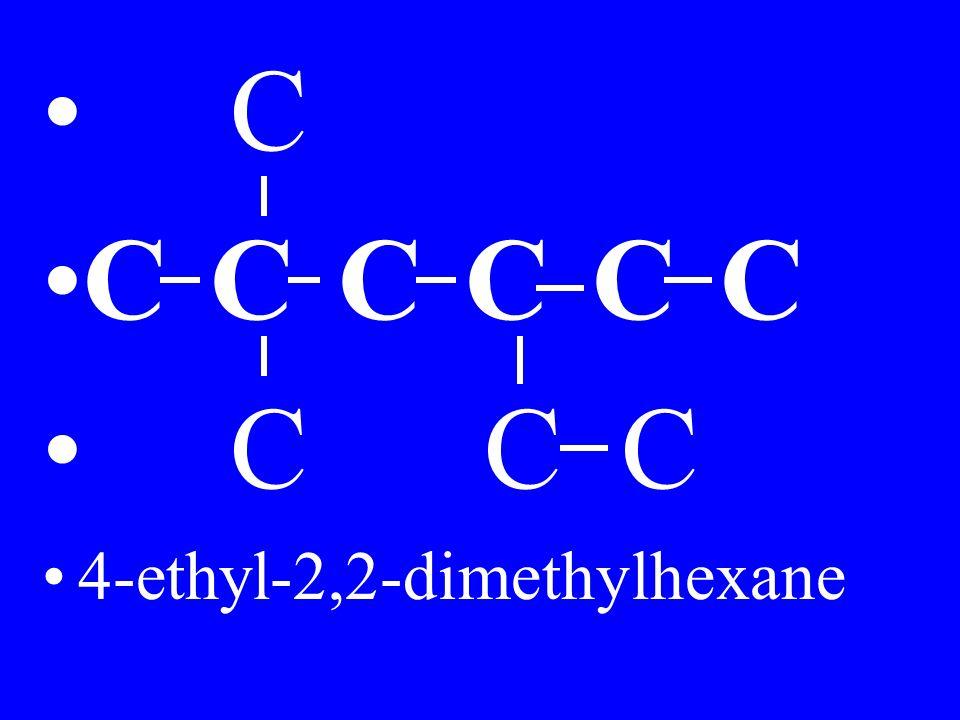 C C C C 4-ethyl-2,2-dimethylhexane