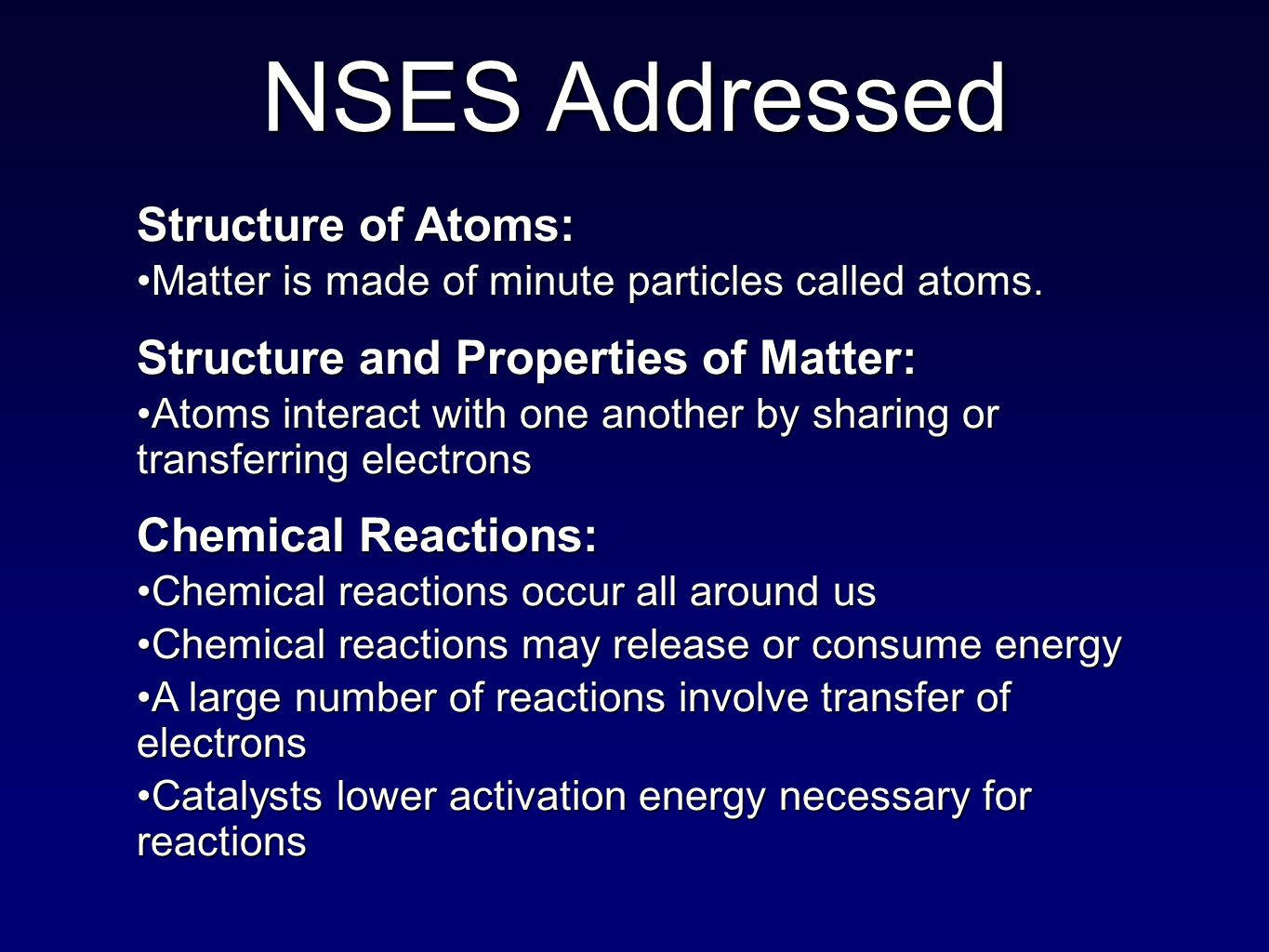 Structure of Atoms: Matter is made of minute particles called atoms.Matter is made of minute particles called atoms.