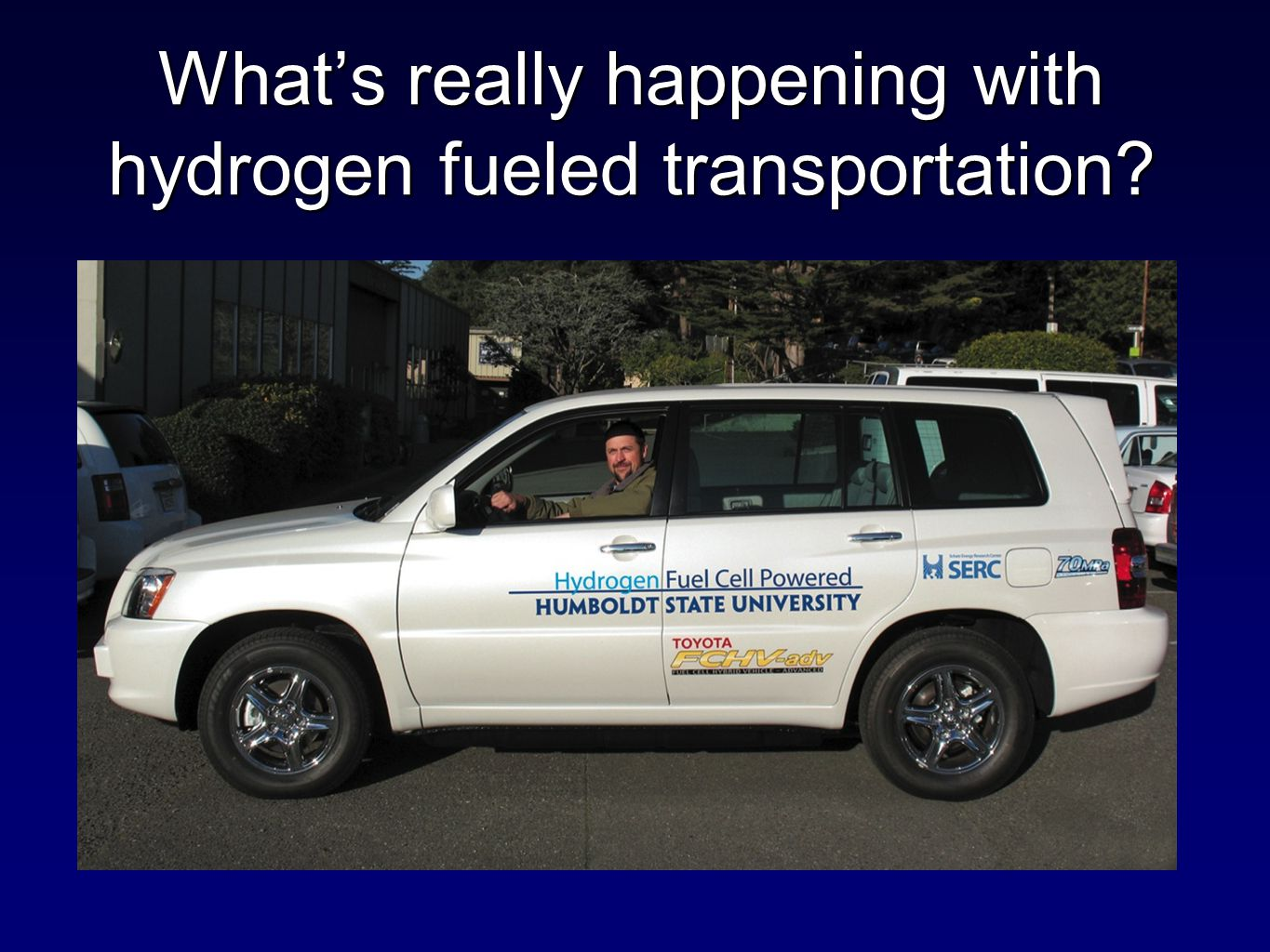 What's really happening with hydrogen fueled transportation