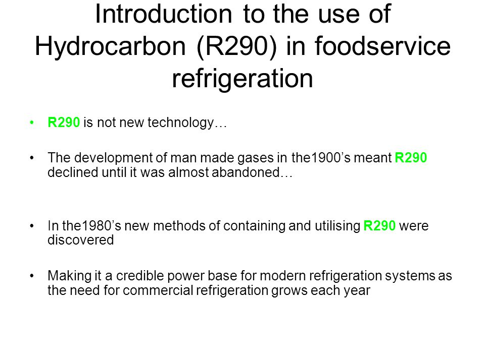 What Iglu Cold Systems developed All Iglu foodservice refrigeration products listed within the price list (excluding Blast Chillers and sushi units) can be specified in R290 Giving for the first time, Foodservice related users the opportunity to have an R290 based alternative, to drive uprights and counters in the most compliant and energy efficient way
