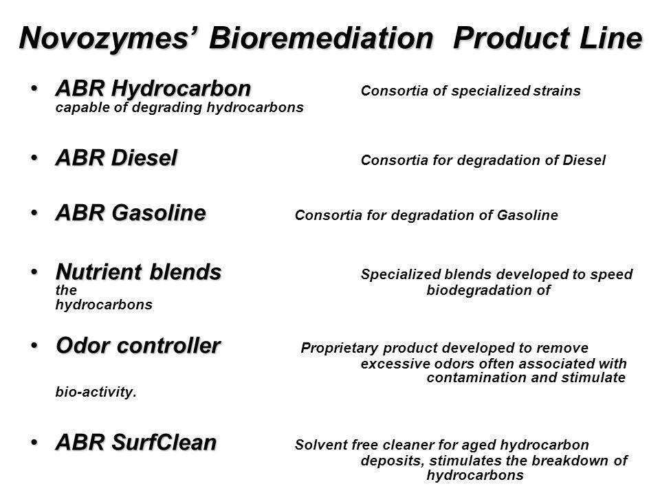To large bioremediations...