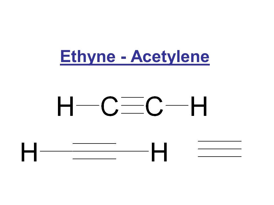 Ethyne - Acetylene