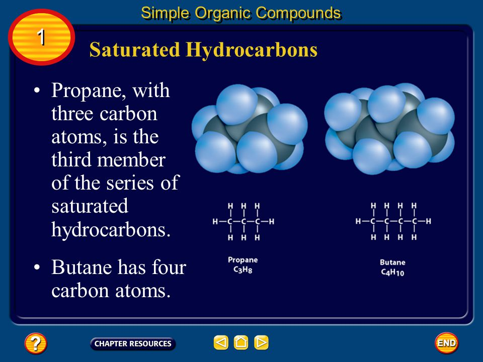 1 1 Section Check Question 1 A compound that contains only hydrogen and carbon is known as what.