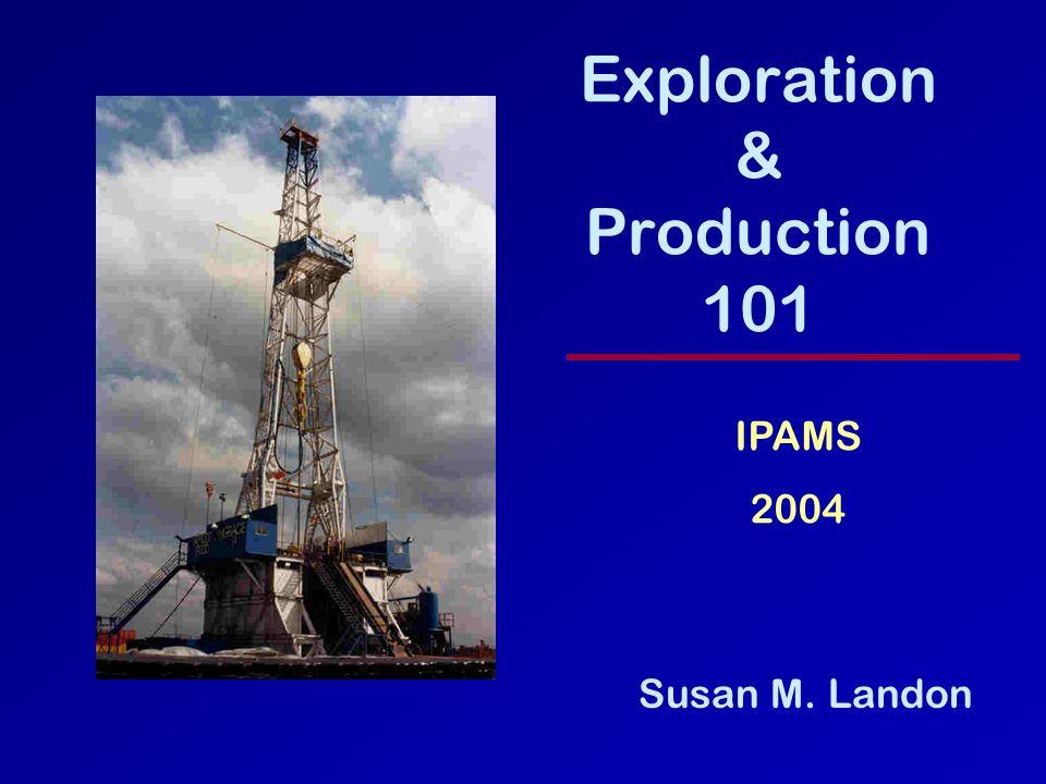 Exploration & Production 101 Susan M. Landon IPAMS 2004