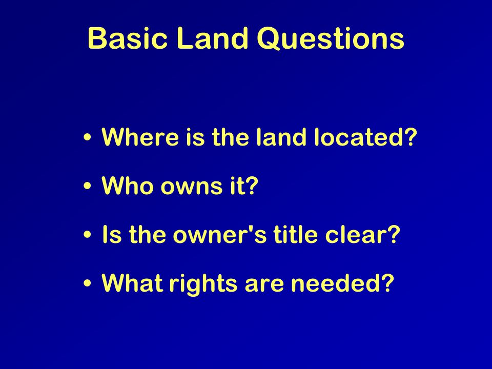 Leasing – Land Ownership United States Private - 2/3 of US is in private ownership State –Onshore –Offshore Federal –Onshore (BLM, Forest Service, DoD, etc.) Most Federal land is located west of the Mississippi –Offshore (MMS)